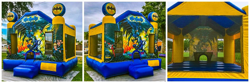 13x13 Batman Bounce House Jumper
