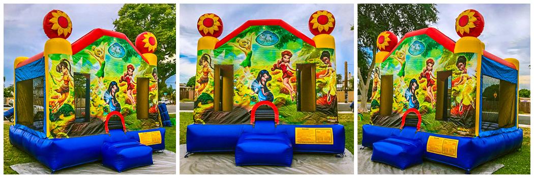 13x13 Fairies Bounce House Jumper