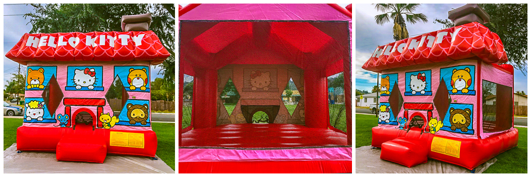 13x13 Hello Kitty Bounce House Jumper
