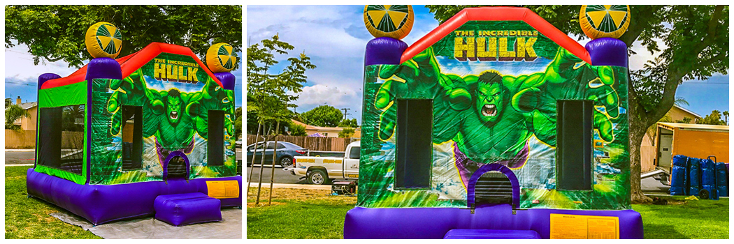 13x13 Hulk Bounce House Jumper