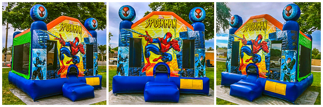 13x13 Spiderman Bounce House Jumper