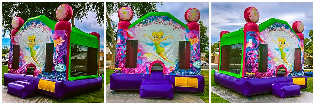 13x13 Tinker Bell Bounce House Jumper