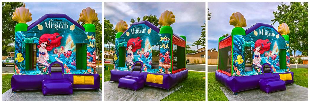 13x14 Little Mermaid Bounce House Jumper
