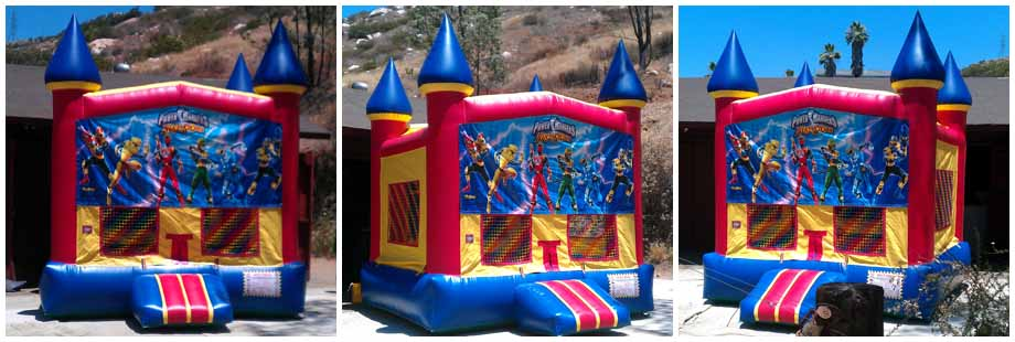 blue castle inflatable bounce house