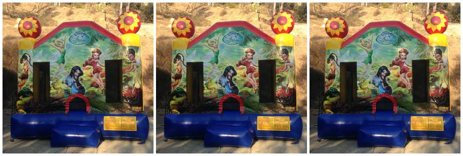 fairies theme inflatable bounce house for rent