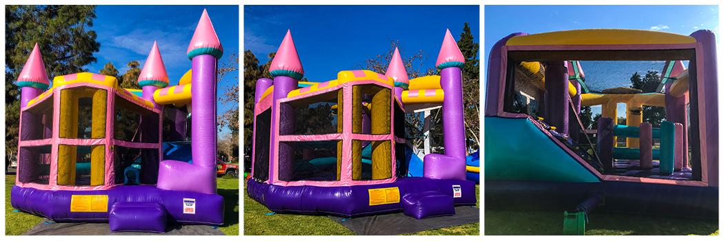 22x24 5 in 1 Dazzling Castle Jumper