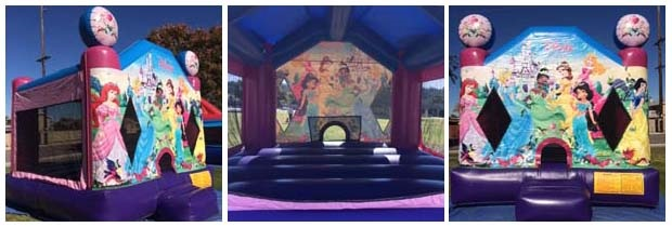 disney princess theme jump castle